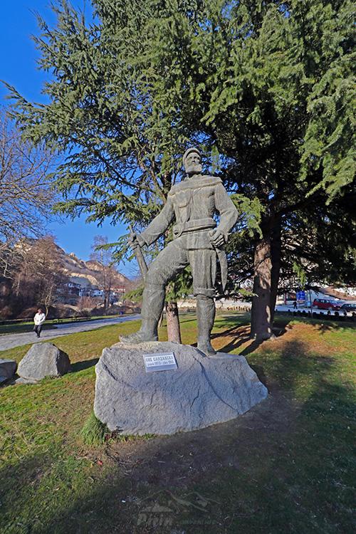 Паметникът на Яне Сандански
