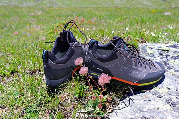 Планински обувки от списък за еднодневен преход през лятото